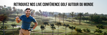 CONFERENCE LIVE YOUTUBE - GOLF AUTOUR DU MONDE