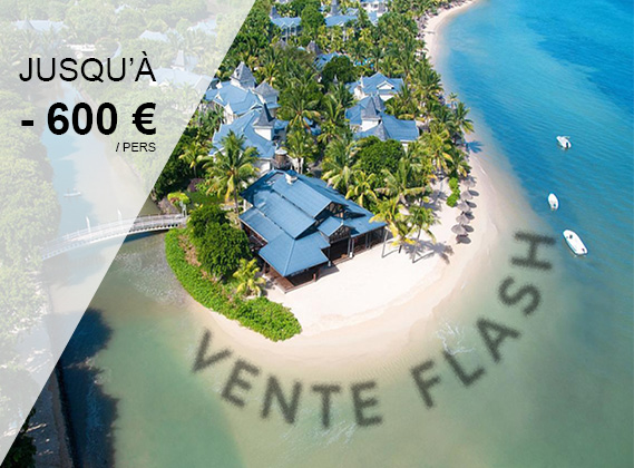 VENTE FLASH EXCEPTIONNELLE - Heritage Le Telfair Golf and Wellness 5*L