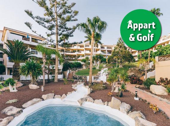 TENERIFE : Appart T2 / 4 P - Muthu Royal Park Albatros 3*